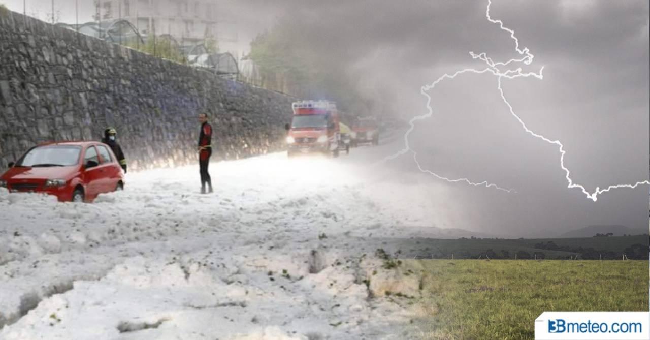 Cronaca meteo: ancora forti temporali al Nord, in parte al Centrosud