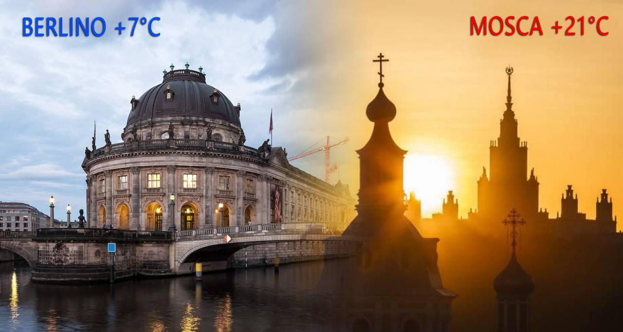 Cronaca meteo Europa: freddo invernale sugli Stati centrali, Mosca tra le città più calde!