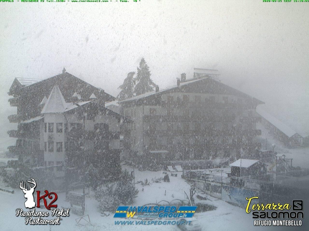 Cronaca meteo: neve copiosa a Foppolo