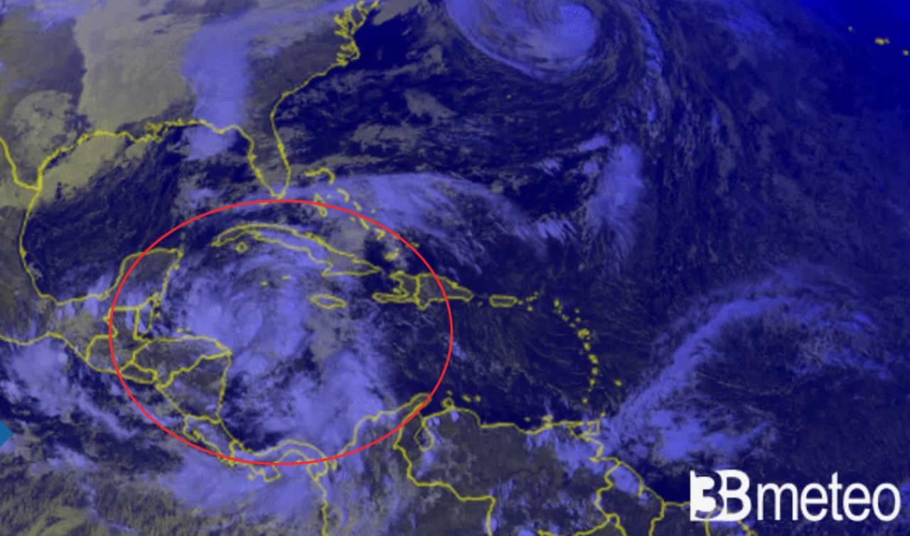 depressione tropicale sui Caraibi, sarà Zeta