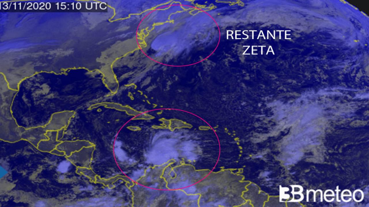 depressione tropicale sui Caraibi, si attende Iota