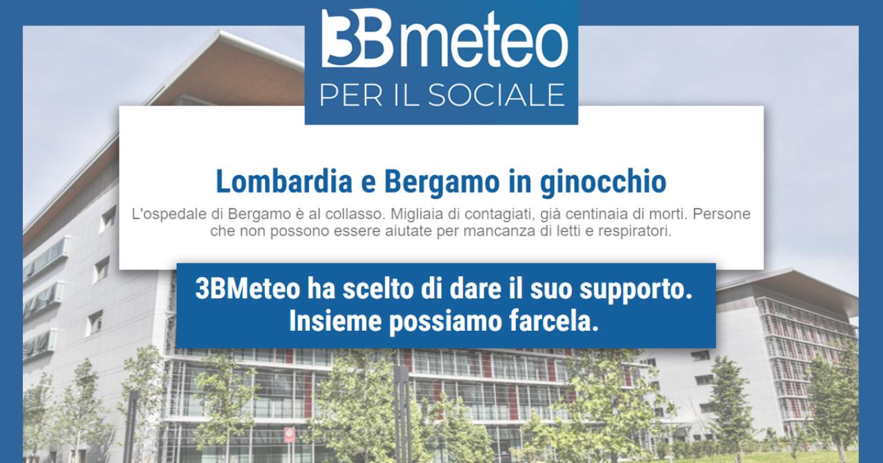 Emergenza Coronavirus: doniamo per supportare l'ospedale di Bergamo