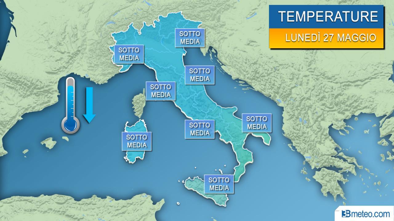 METEO Italia : nel WEEKEND nuovo CALO DELLE TEMPERATURE, vi diciamo di quanto.