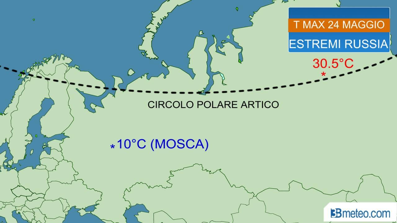 estremi termici in russia