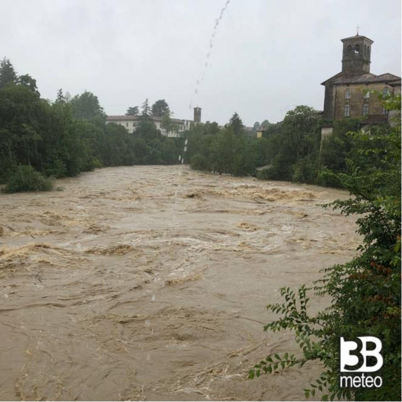 Fiumi in piena ed esondazioni ieri nel Friuli VG