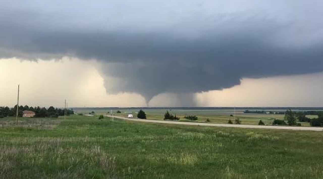 CRONACA METEO. USA, forti temporali sul North East..