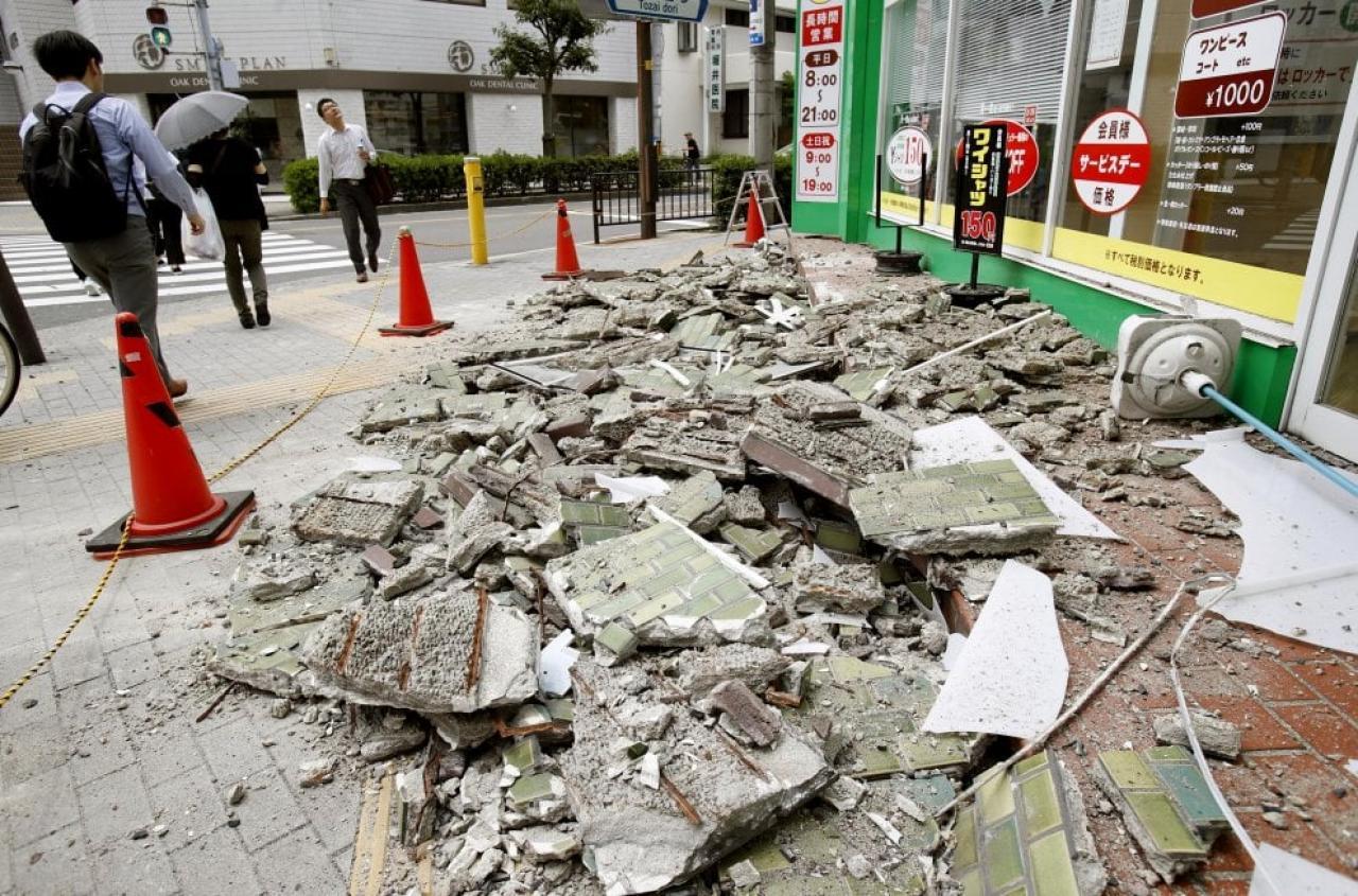 Giappone: scossa di 6.1 ad Osaka. Almeno 3 vittime e 200 feriti
