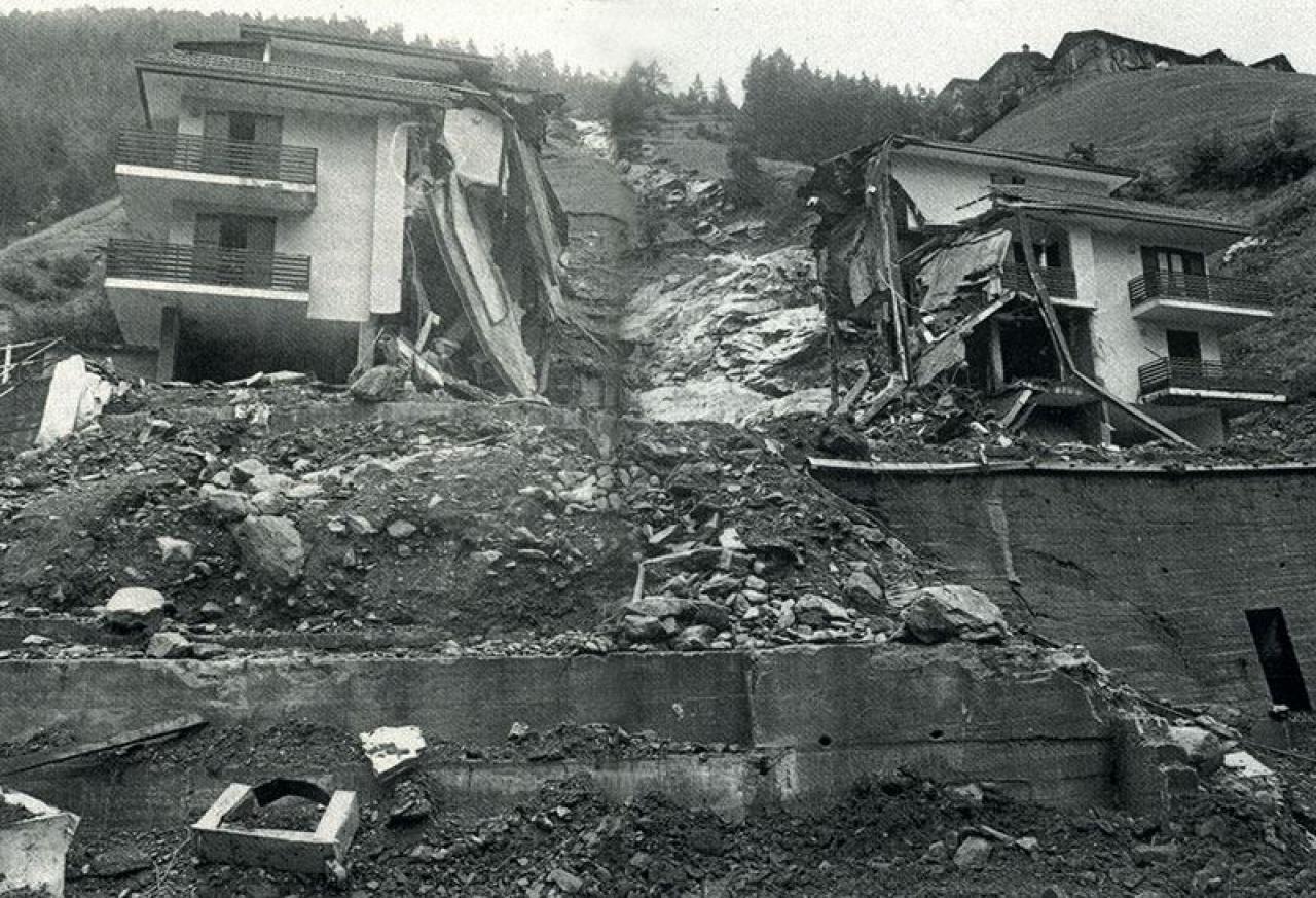 31 anni fa: 18 Luglio 1987, alluvione in Valtellina e Alta Lombardia