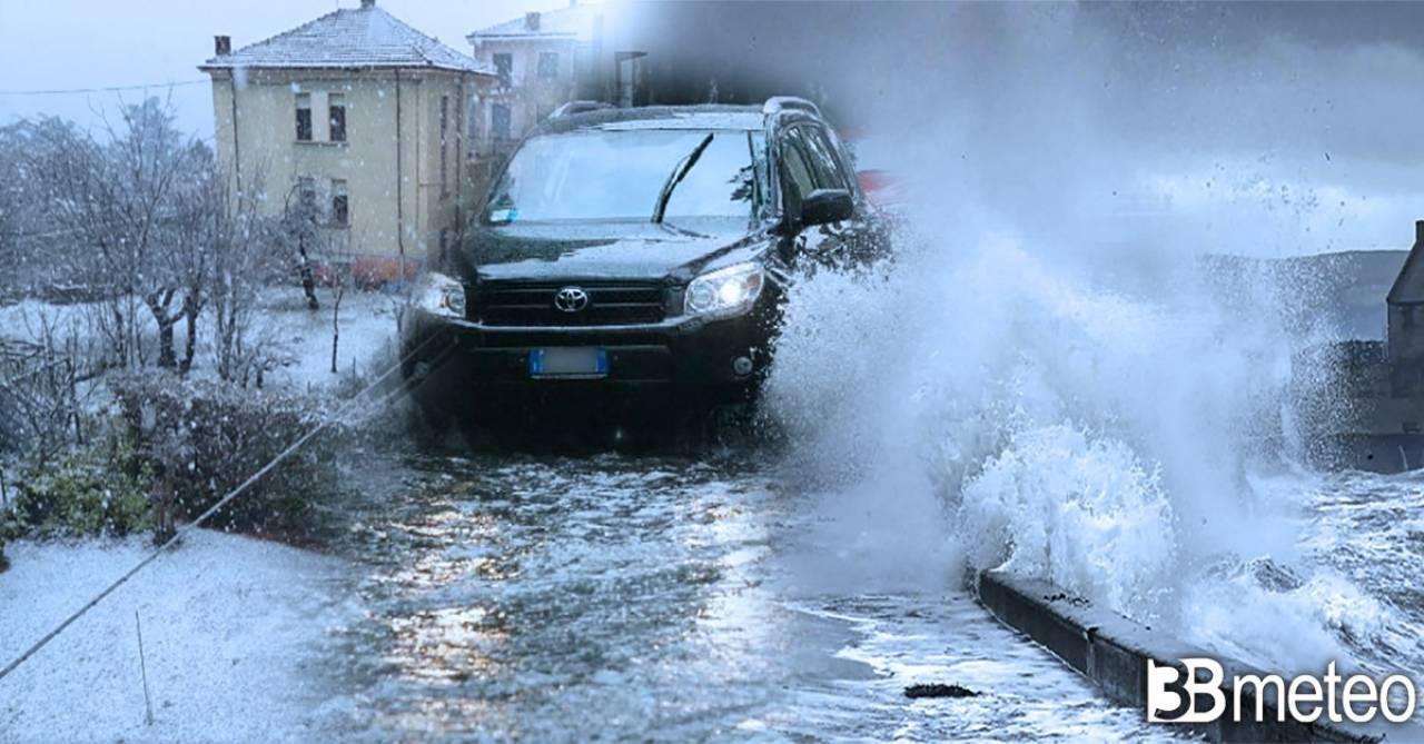 Fredda e piovosa primavera in Europa