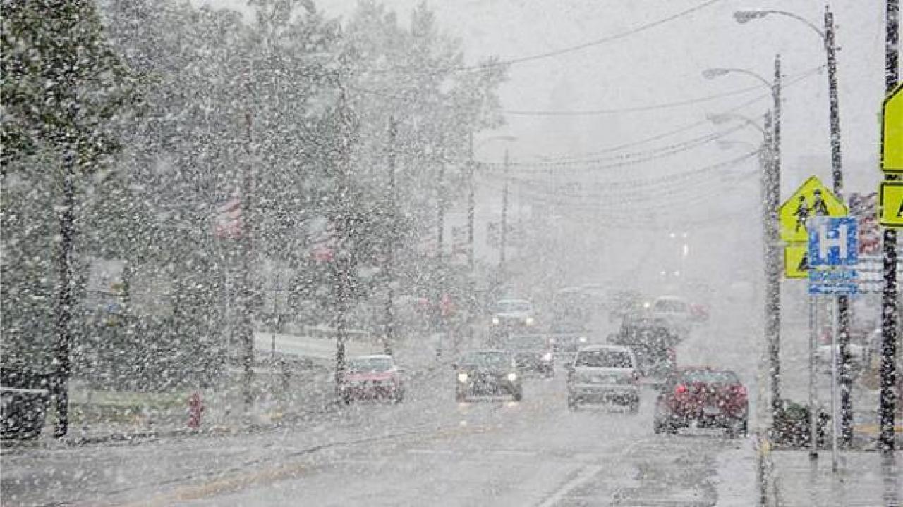 Freddo e neve negli USA in un'immagine di archivio