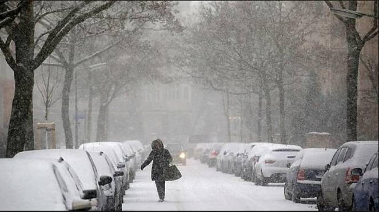freddo e neve protagonisti in Europa