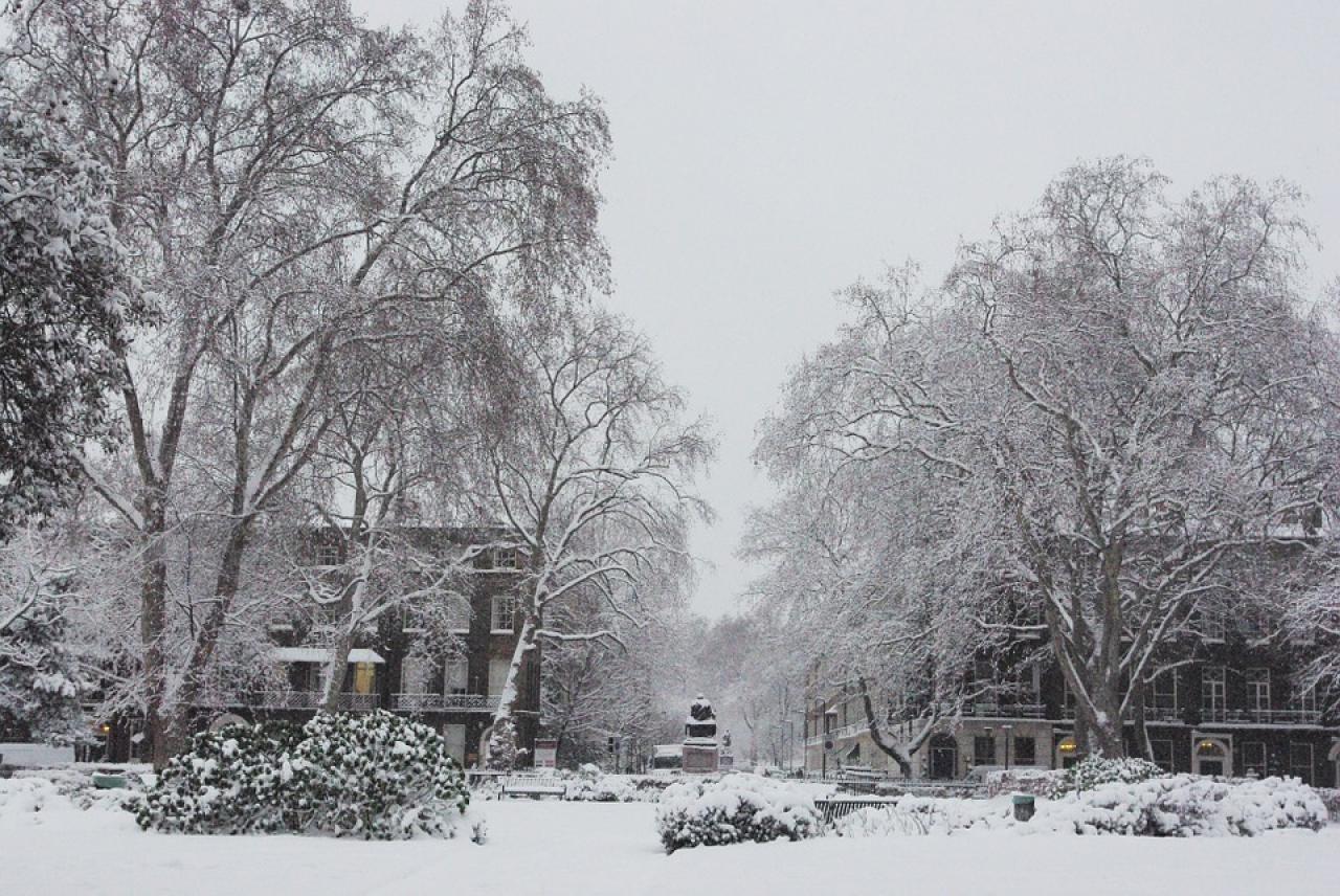 Freddo intenso e neve su gran parte dell'Europa centro settentrionale, per molti giorni