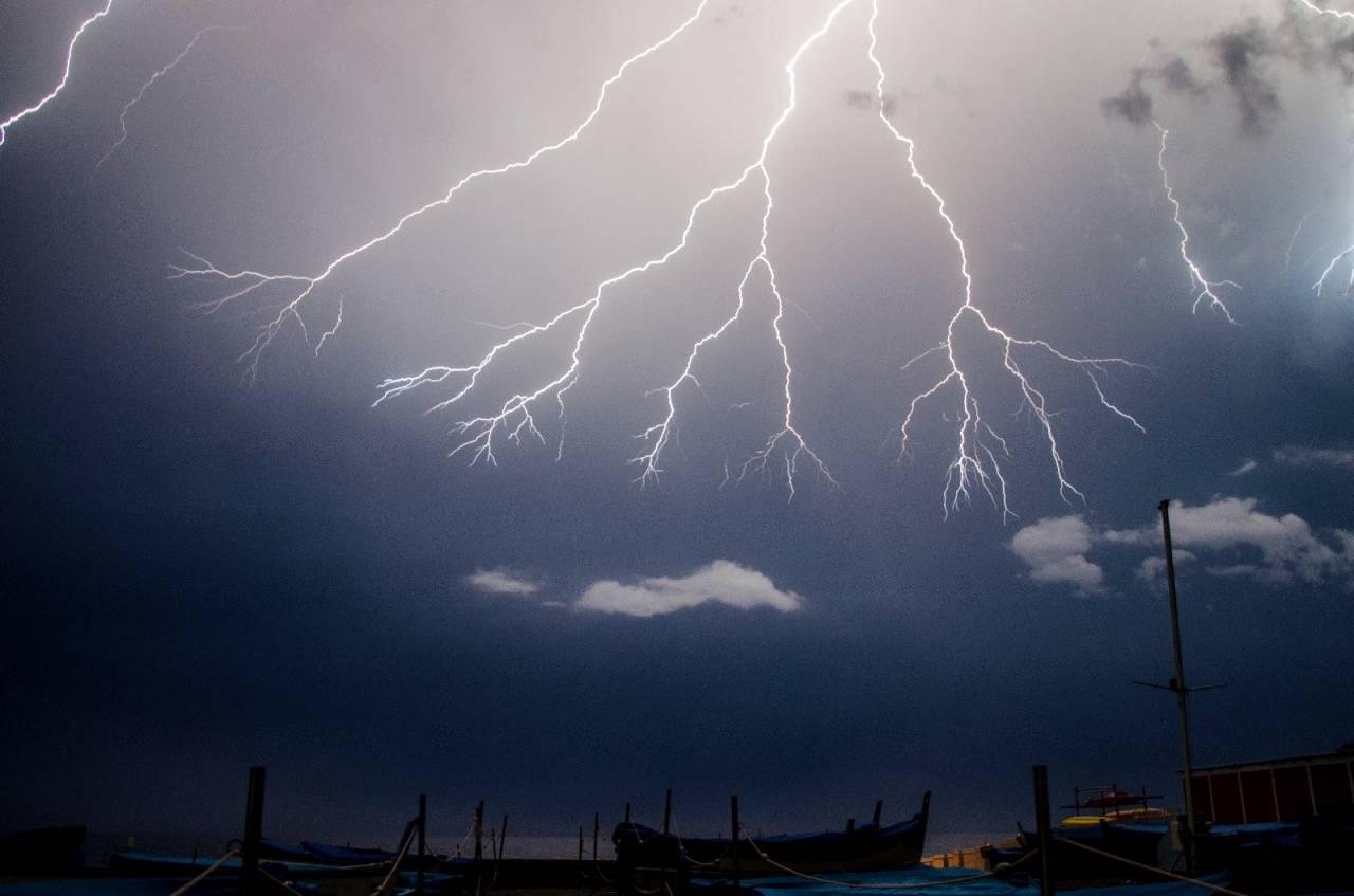 Fulminazioni: impatto purificatore nell'atmosfera. Foto: Laura Bianchi