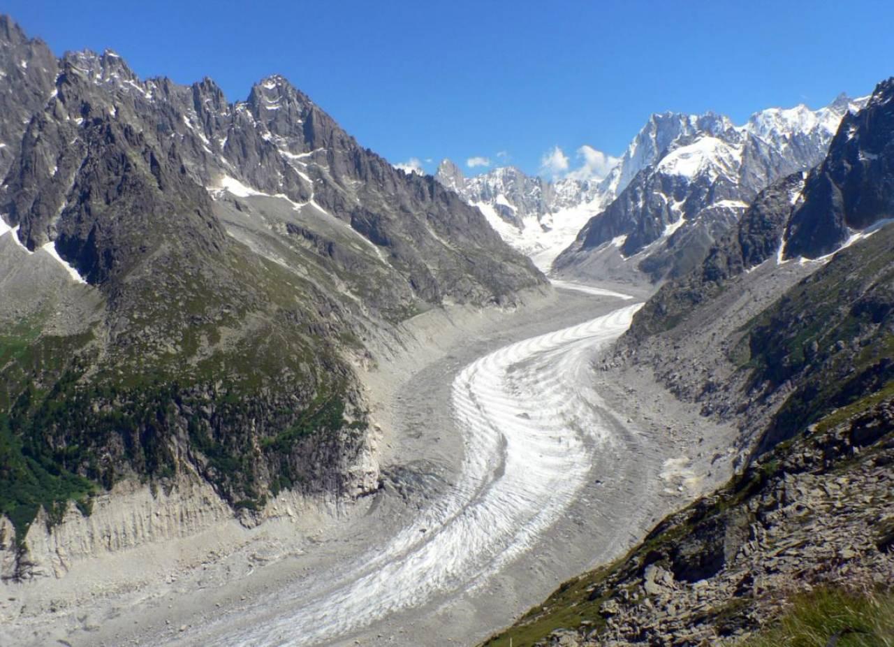 La triste ritirata del 39 39 mer de glace 39 39 sul monte bianco 3b meteo - Meteo chamonix office tourisme ...