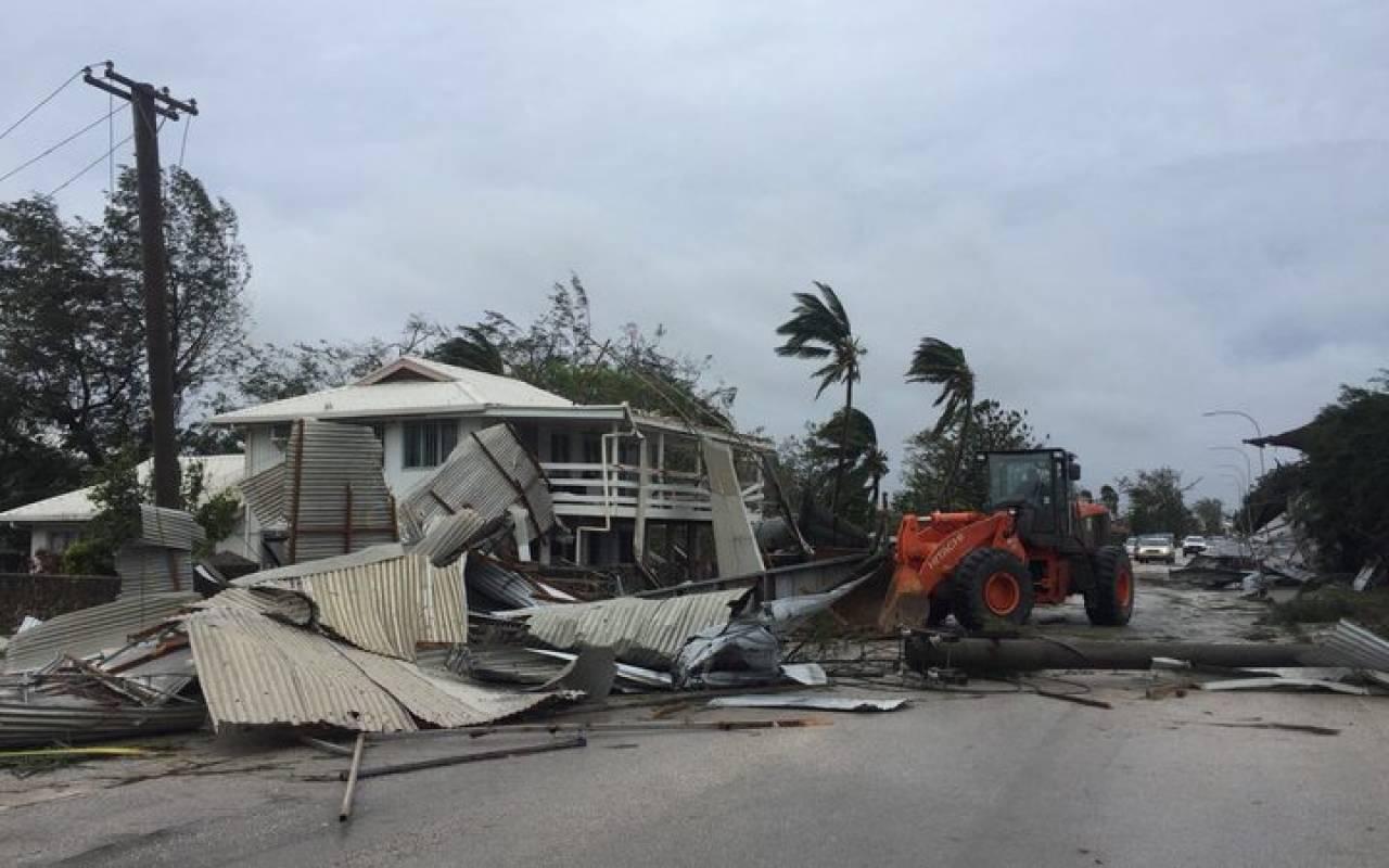 Ciclone tropicale Gita devasta Tonga e minaccia la Nuova Caledonia