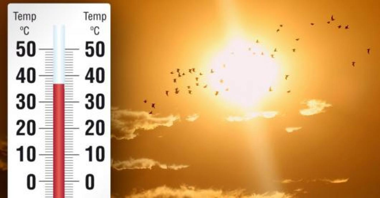 Gran caldo sull'Europa centrale