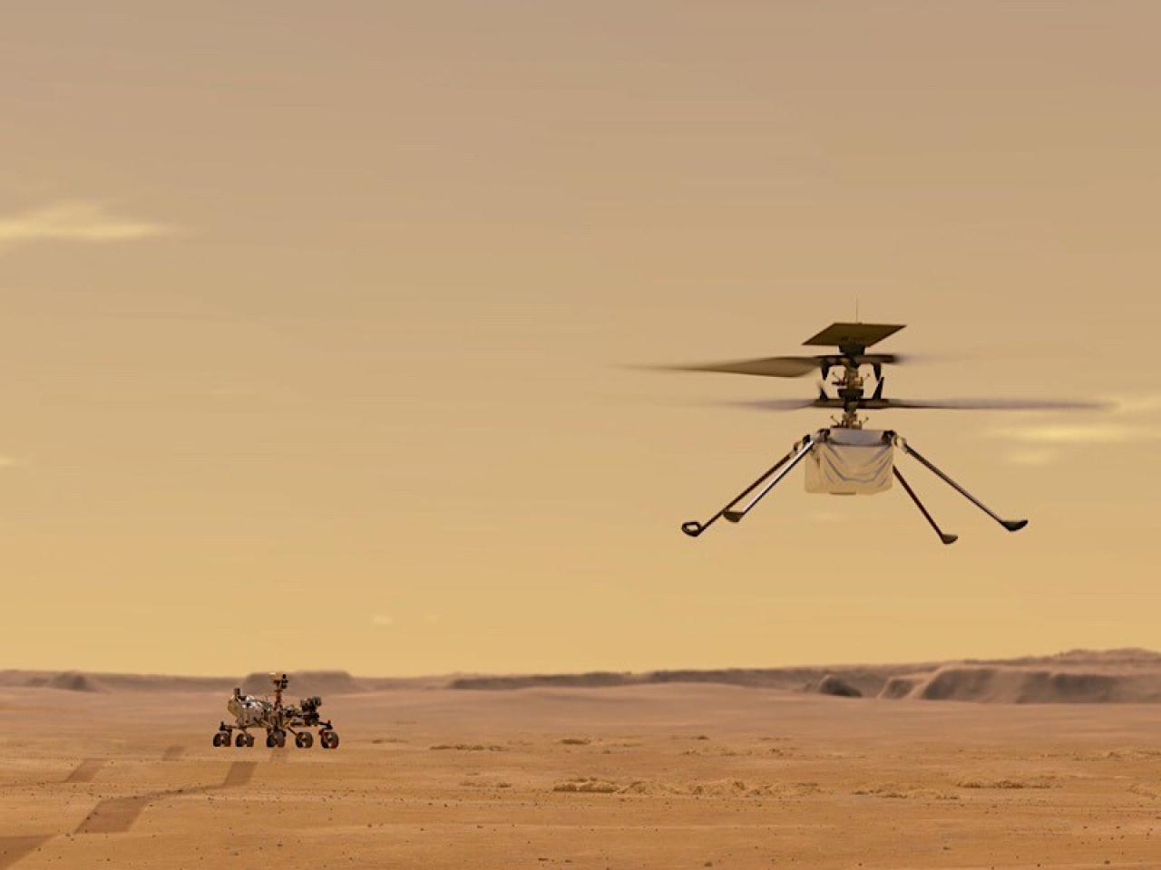 Il drone della Nasa Ingenuity