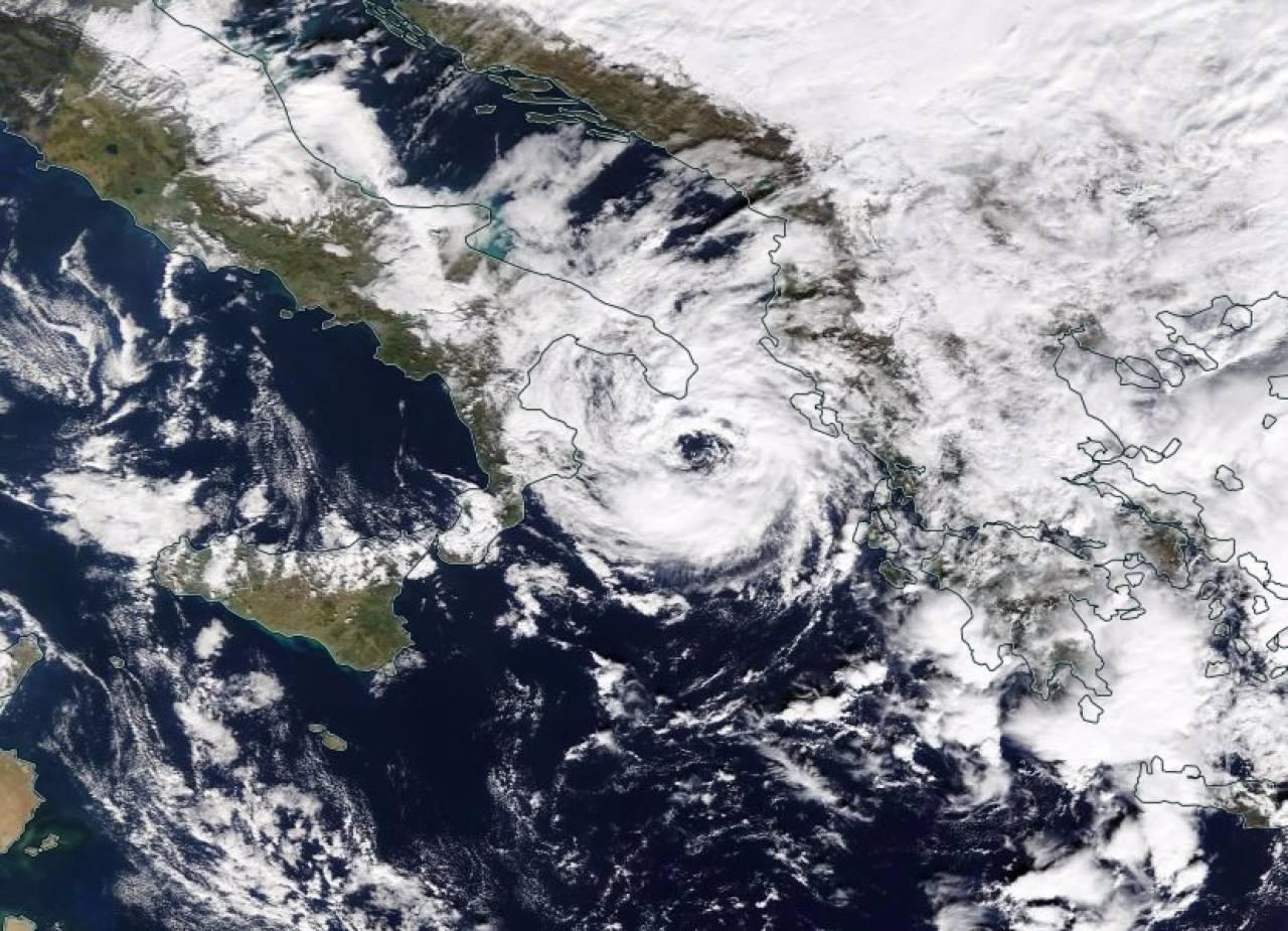 Cicloni mediterranei o Medicanes, Numa simile a Celeno del Gennaio 1995