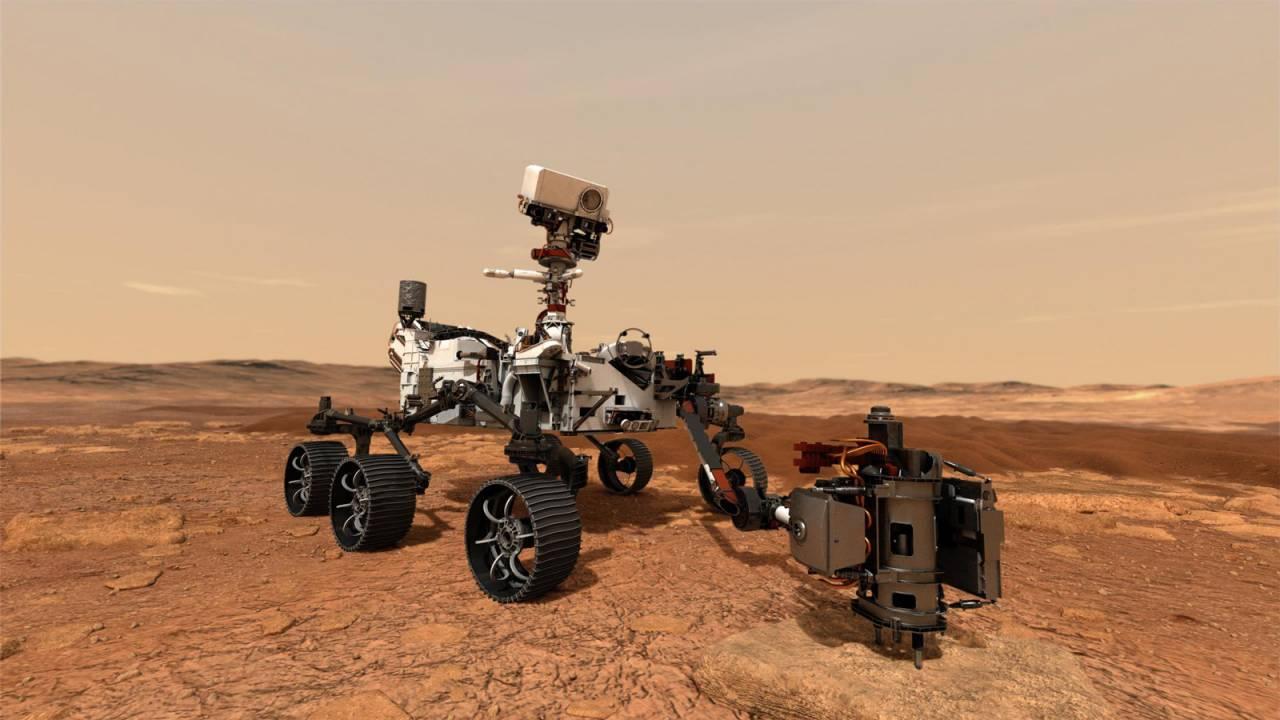Il rover Perseverance (Credito immagine: NASA / JPL-Caltech)