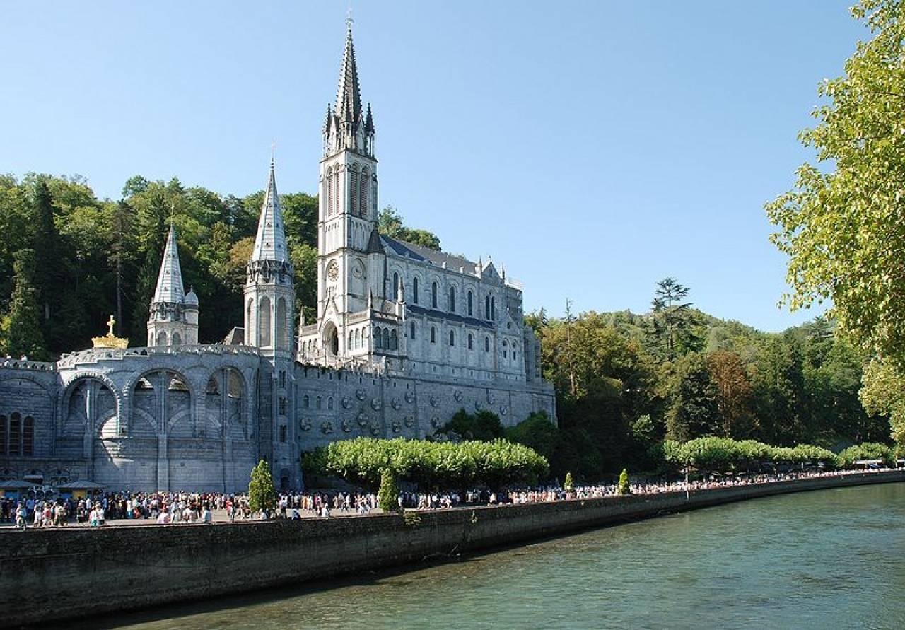 Il santuario di Nostra Signora di Lourdes