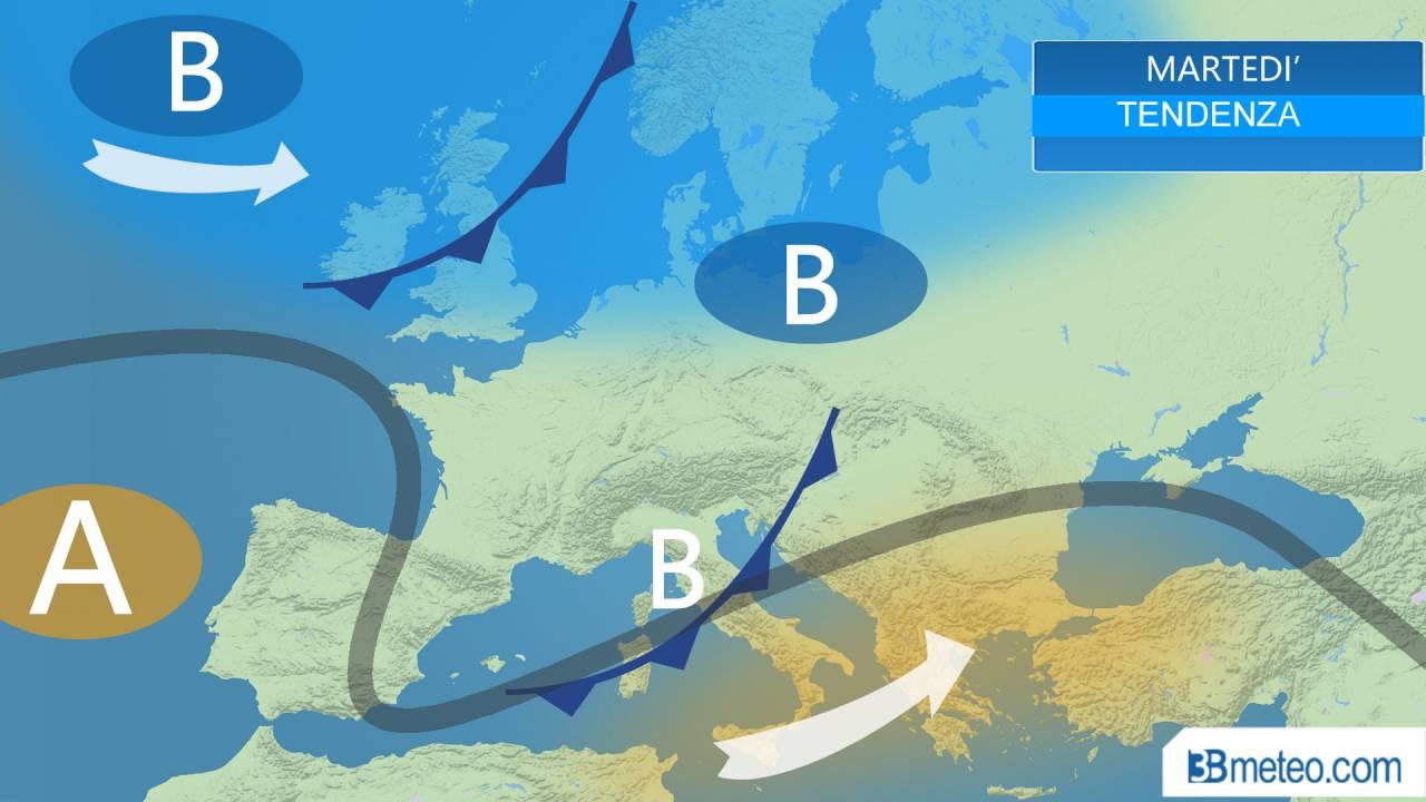 Meteo Italia. Previsioni del tempo della settimana, tendenza