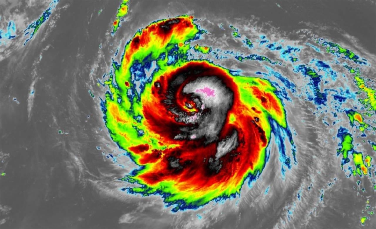 Il tifone Haishen