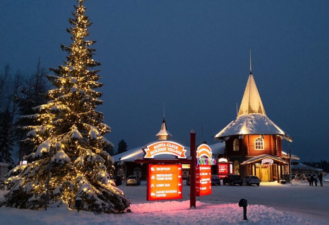 Il Villaggio di Santa Claus a Rovaniemi (Fonte immagine: Santa Claus Village)