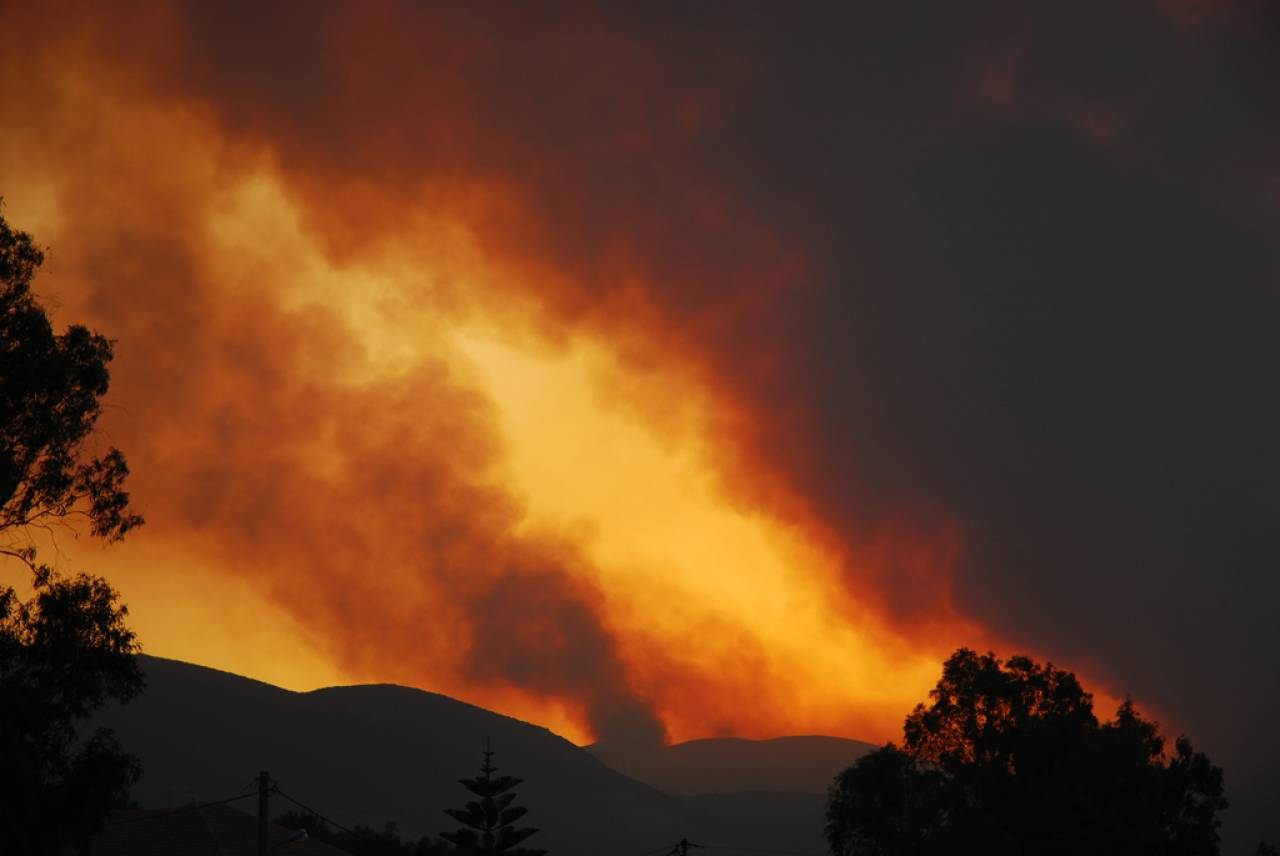 incendi, immagine di repertorio