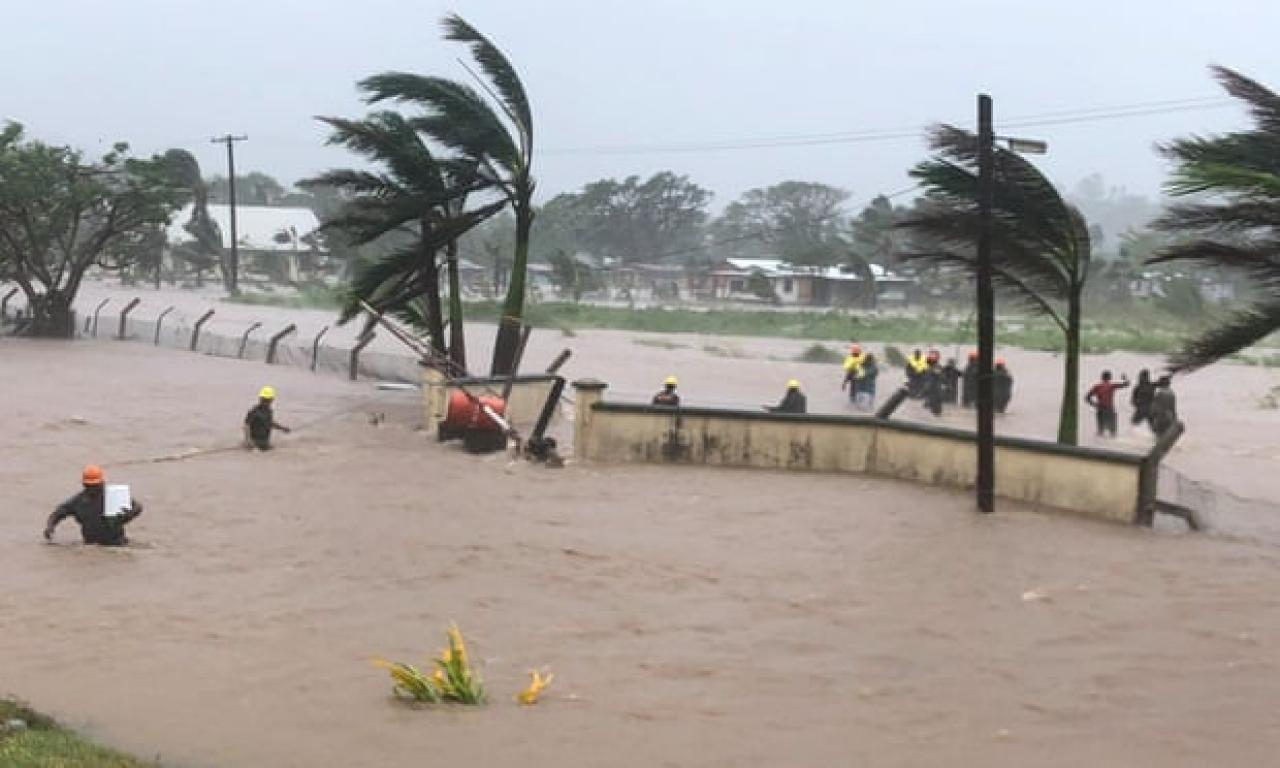 Ingenti danni causati da Ana nelle Fiji (Fonte immagine: Fiji National Disaster Management Office)