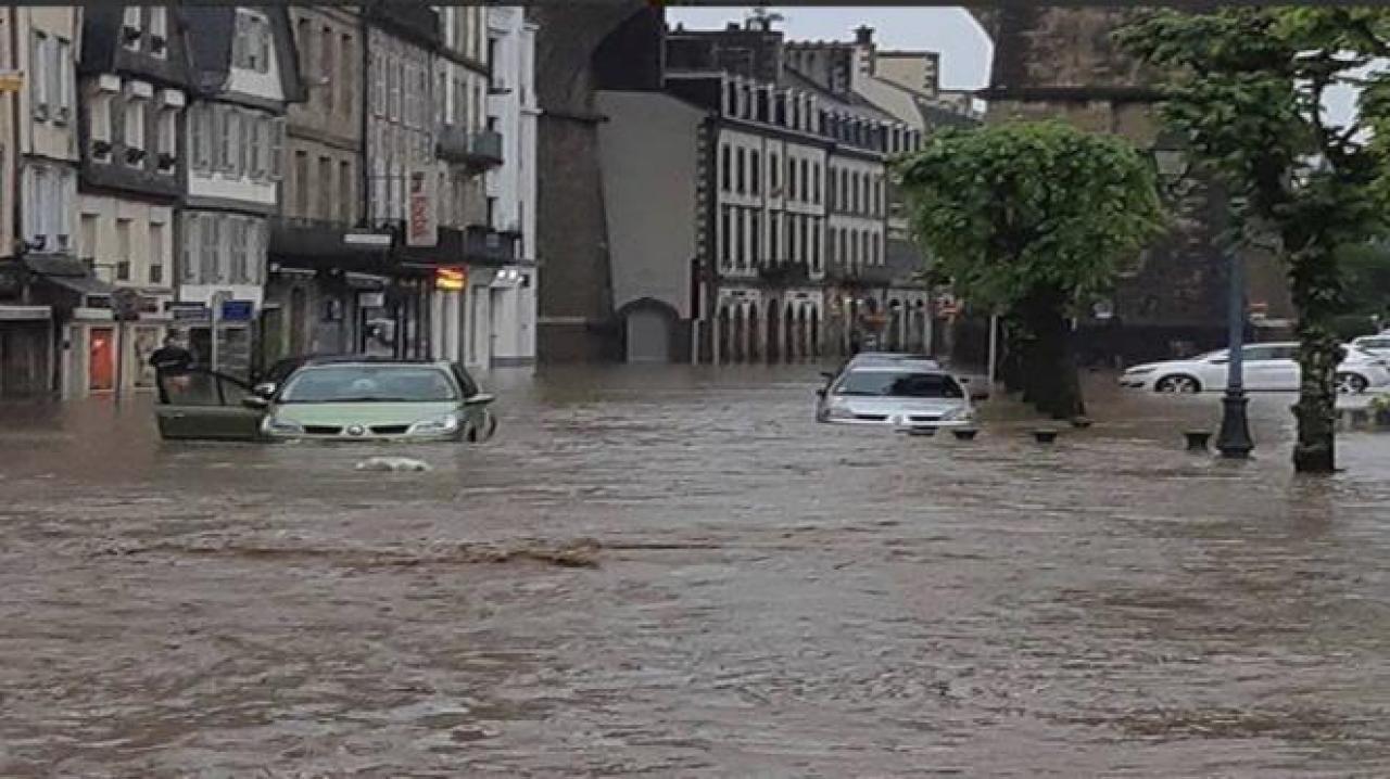 Inondazioni in Francia in un'immagine di archivio
