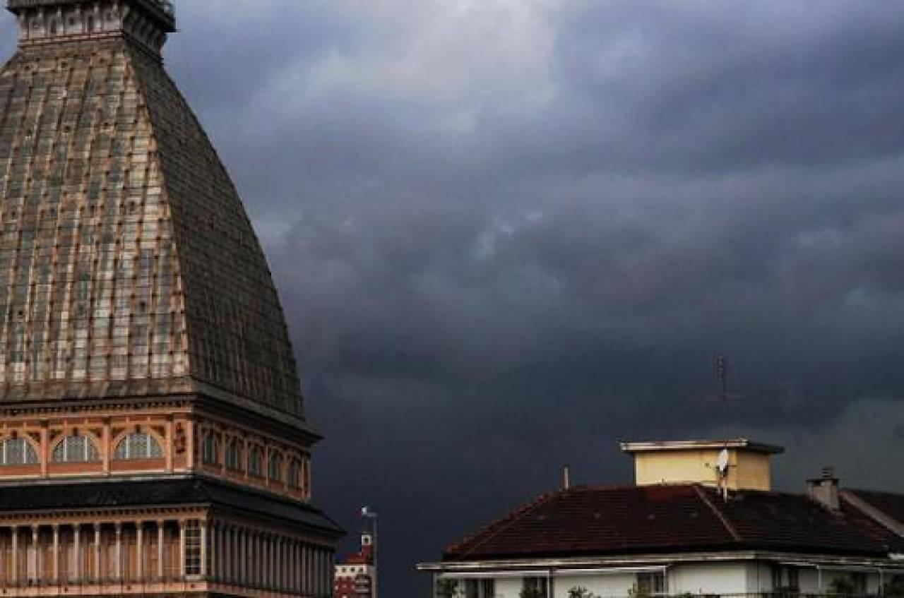 Intenso maltempo in arrivo a Torino