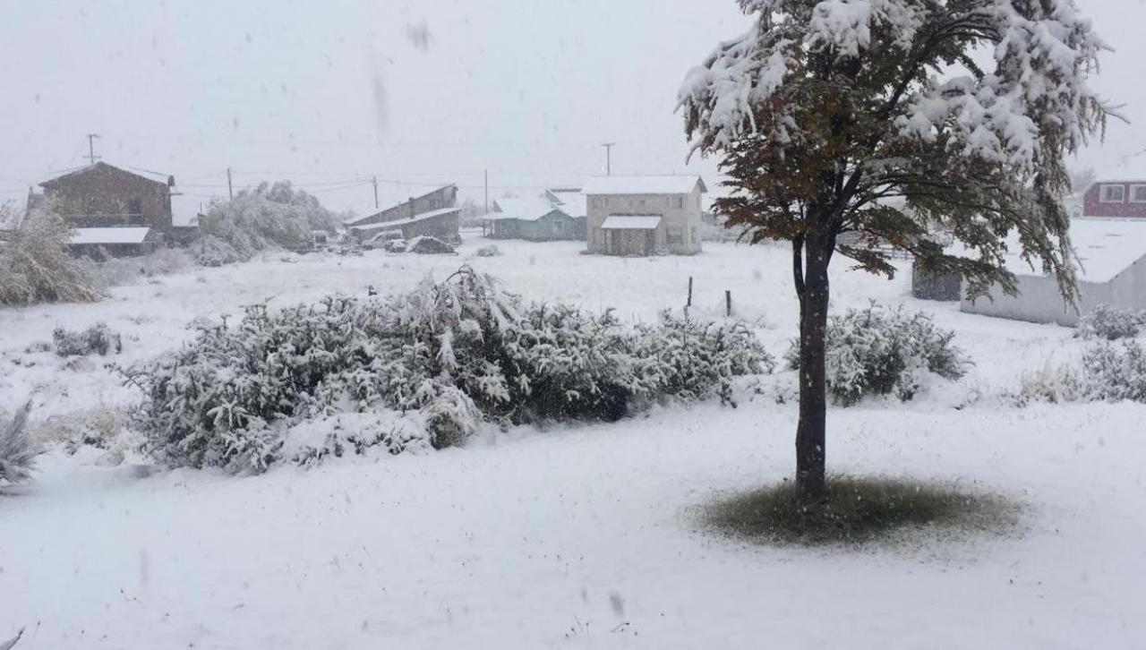 Inverno rigido in Argentina, neve abbondante fino a quote medio basse