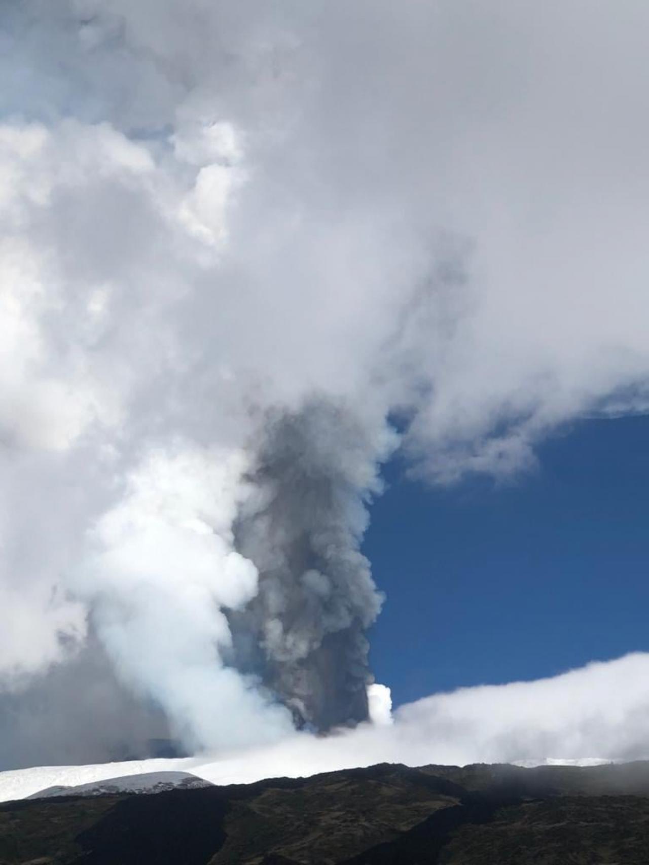 L'eruzione dell'Etna (Foto di Andrea Pulvirenti)