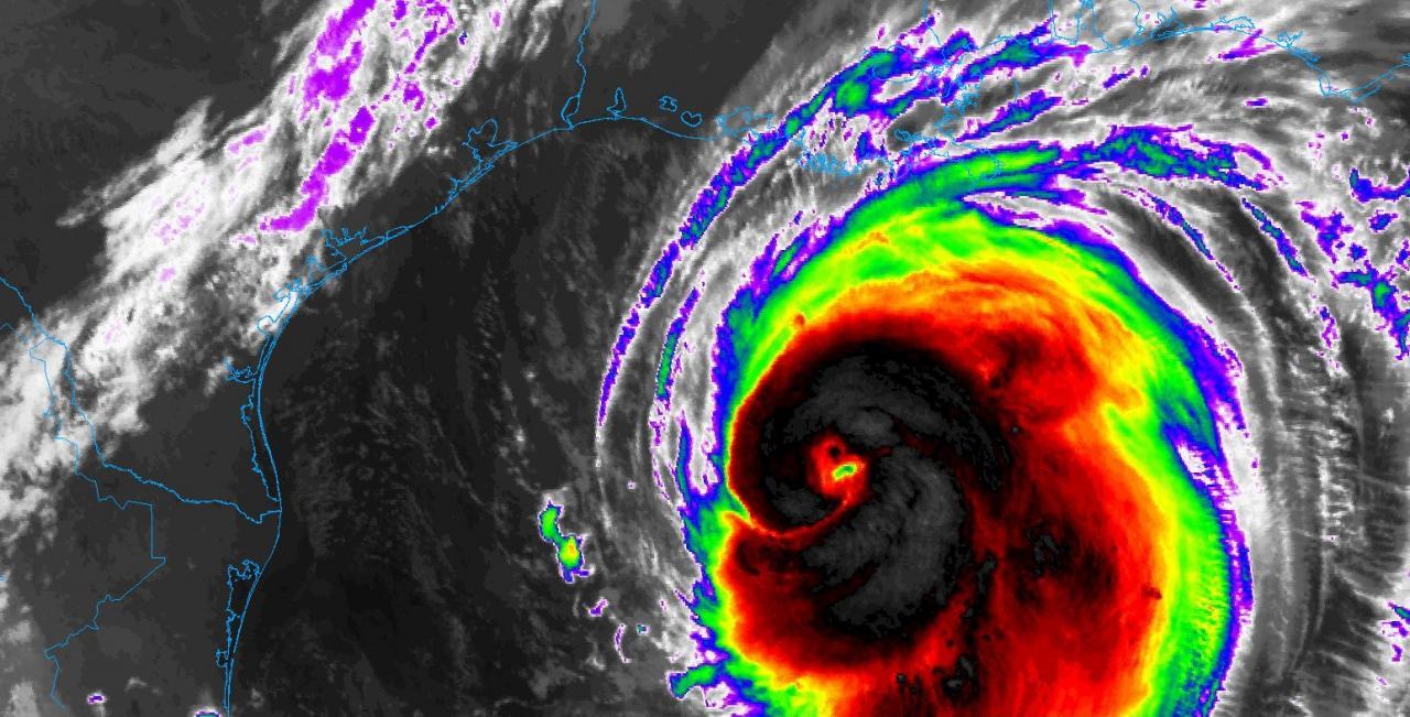 L'uragano Laura ha raggiunto le coste della Louisiana