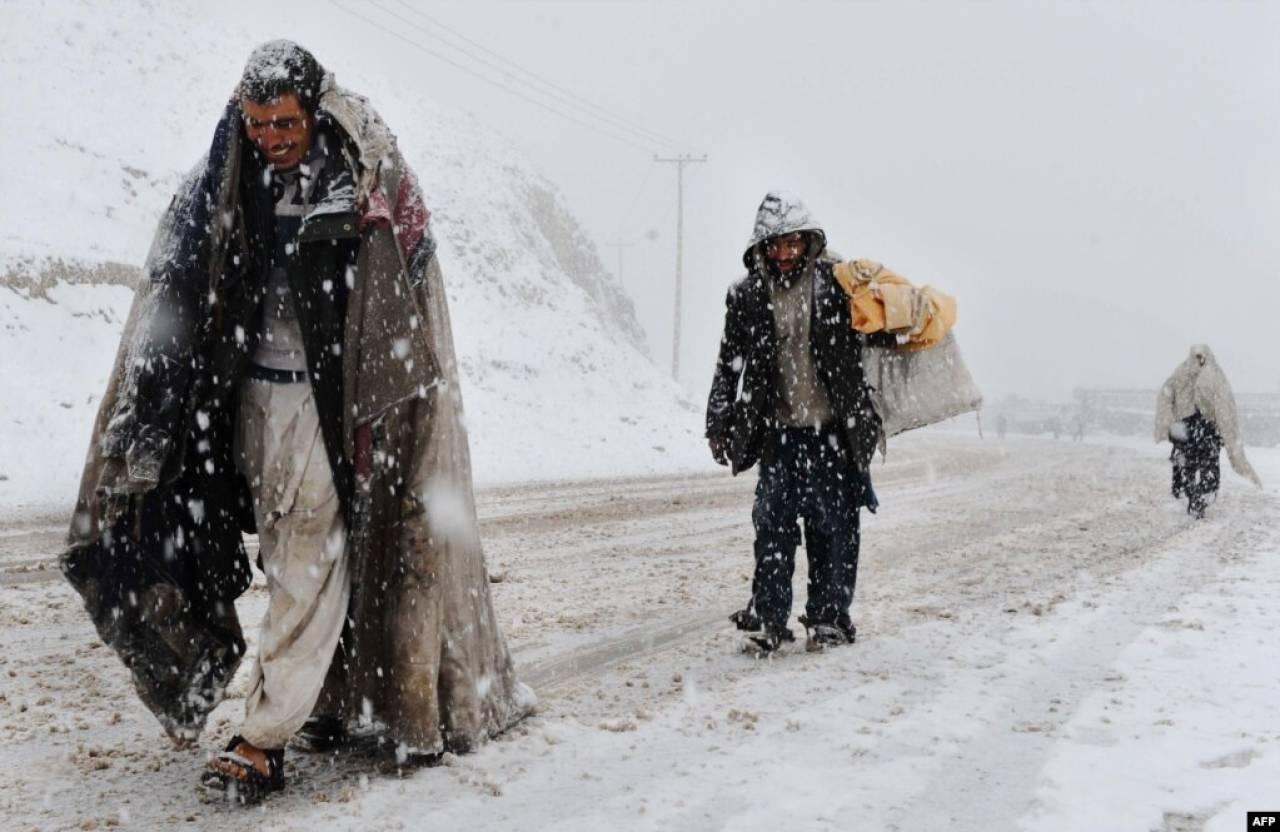 La neve arriva in medio oriente