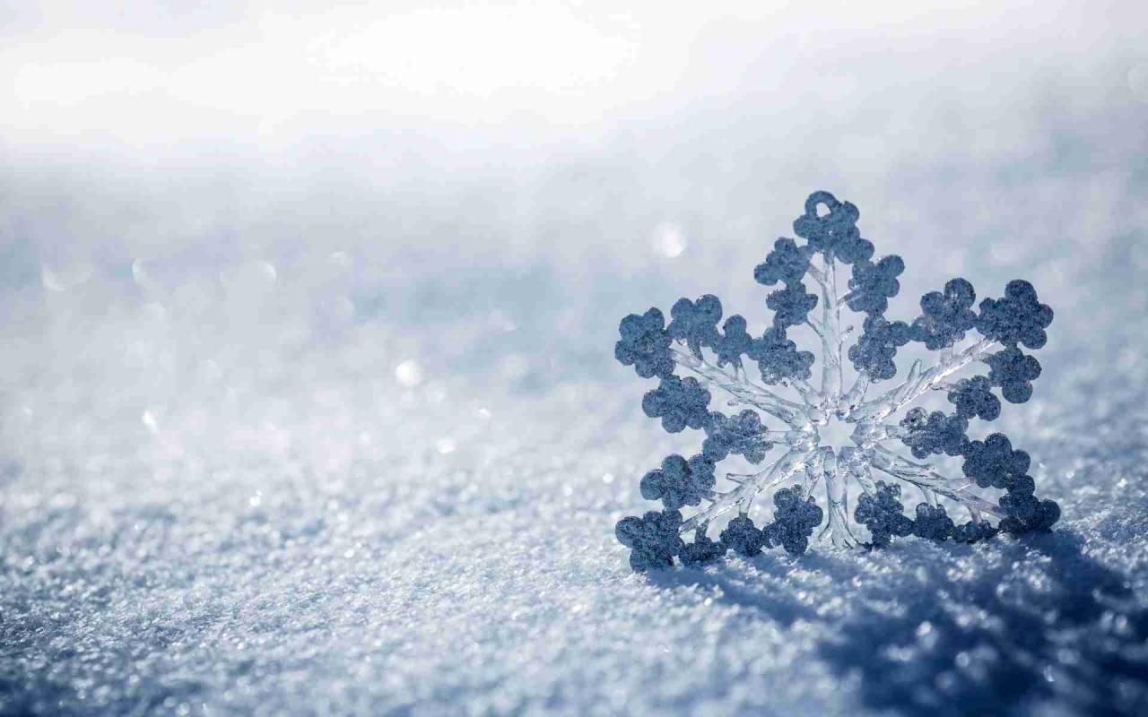 Curiosità Meteo: perchè la neve è bianca?