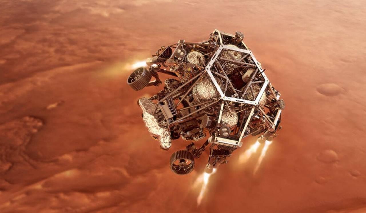 La sonda Perseverance ha raggiunto il suolo di Marte