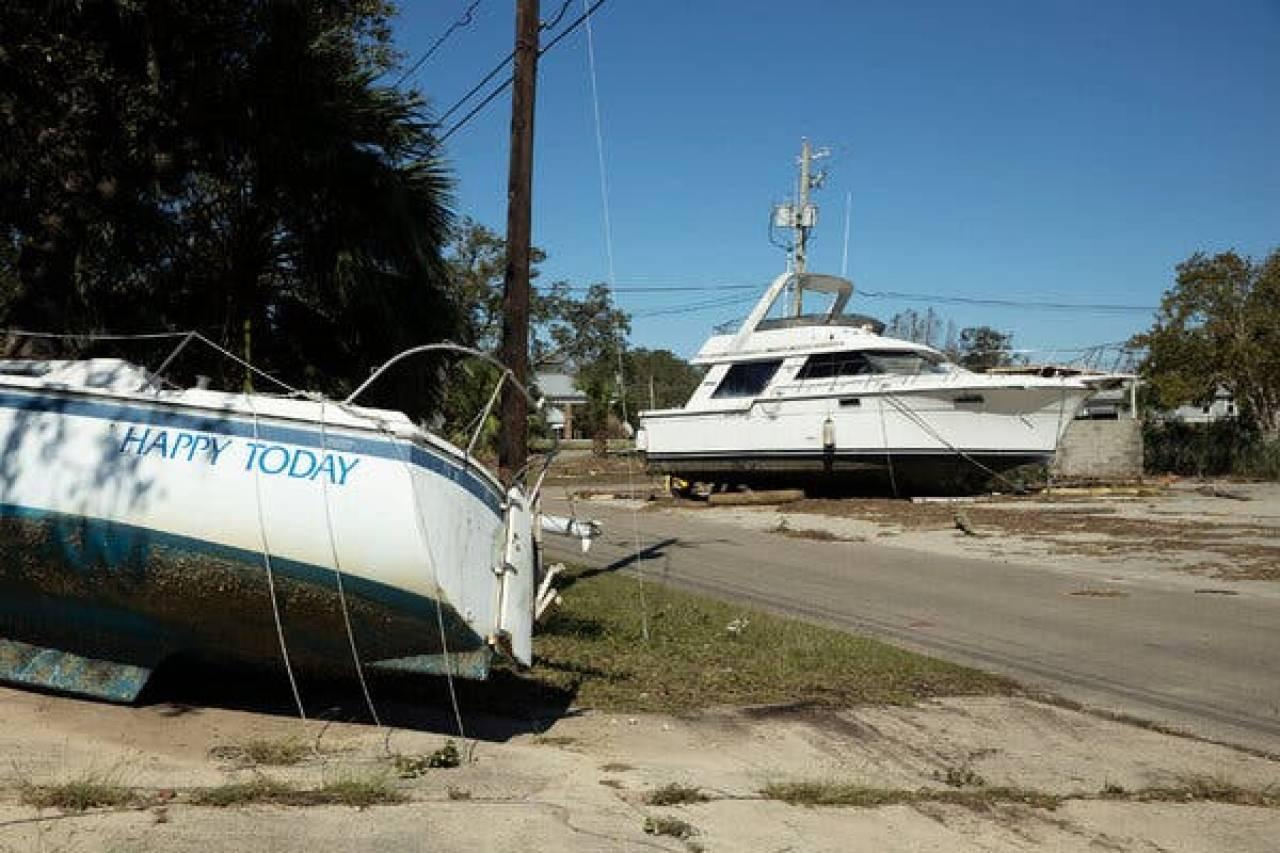 La tempesta tropicale Zeta, una lunga scia di distruzione