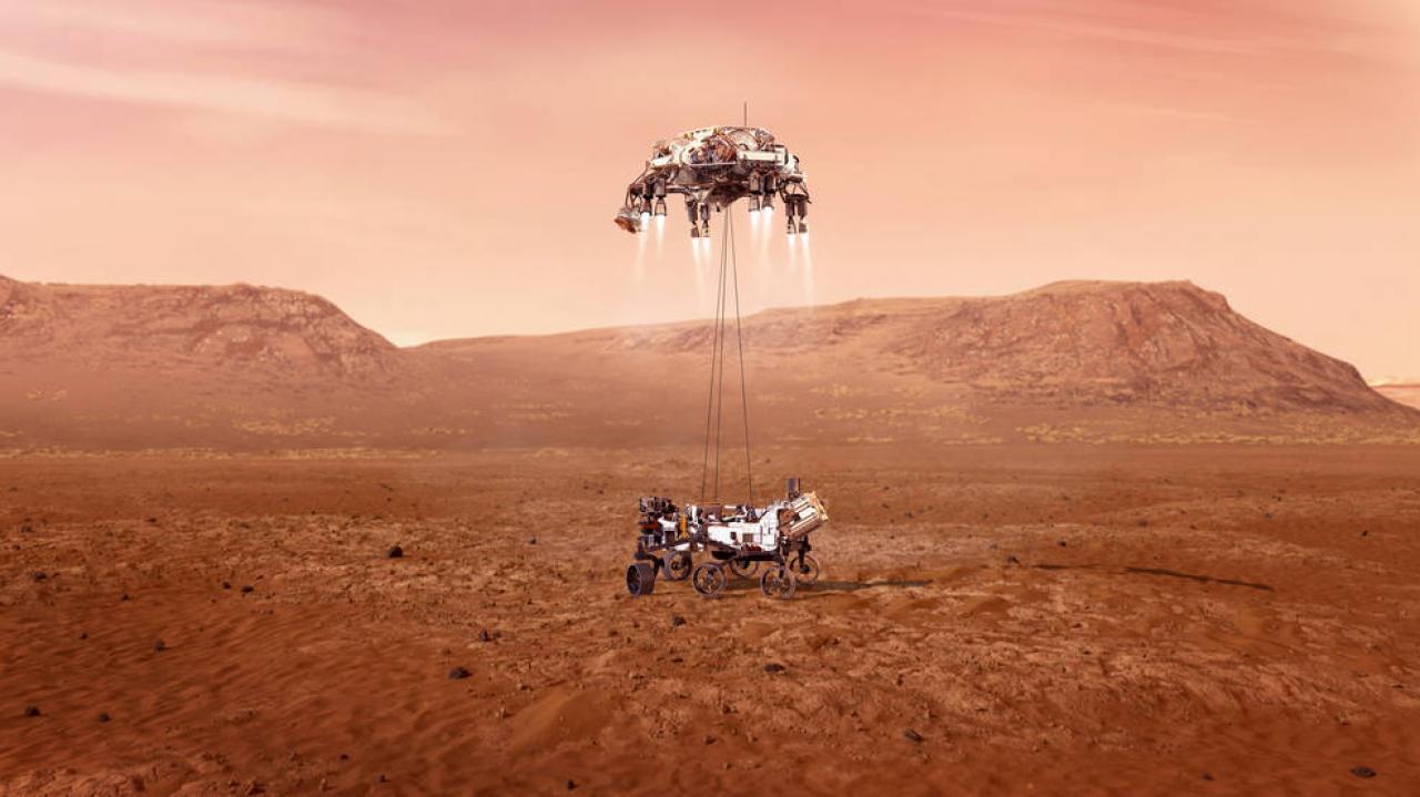 La voce di Marte, prima registrazione ambientale del Pianeta Rosso