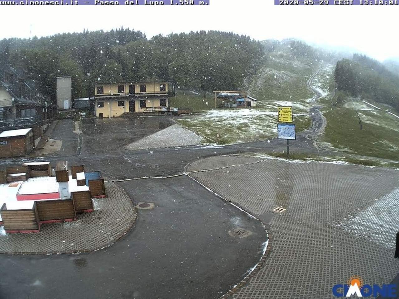 La webcam dal Monte Cimone (MO)