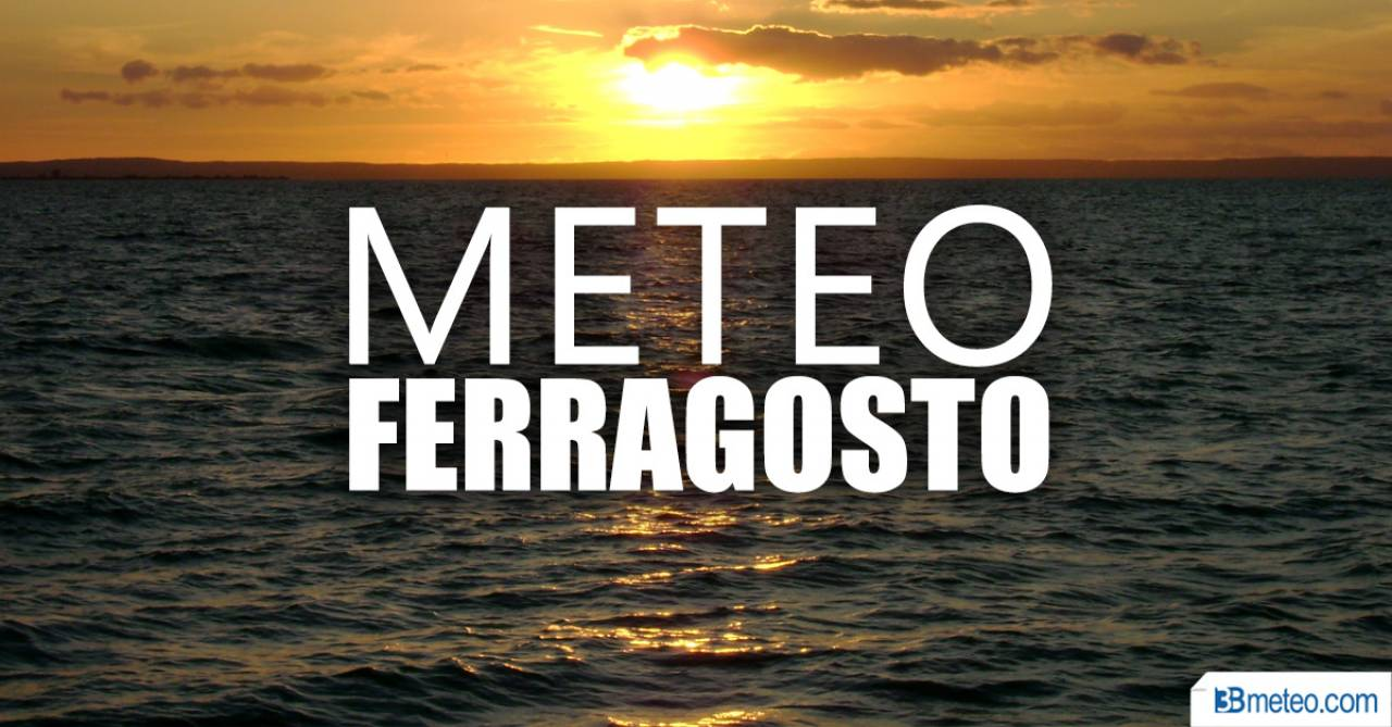 Meteo: previsioni per domani sabato 8 agosto 2020