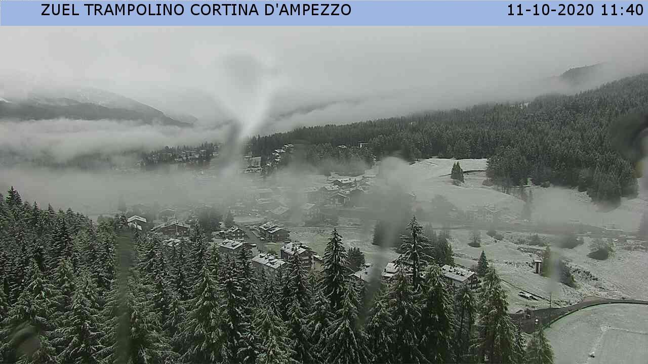 Leggera spolverata a Cortina d'Ampezzo (BL)