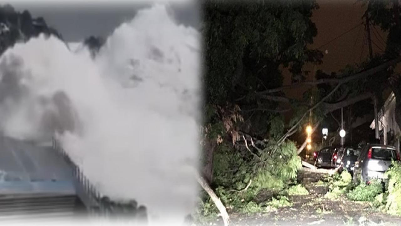 Meteo. Uragano Leslie impatta sul Portogallo con raffiche fino a 170km/h