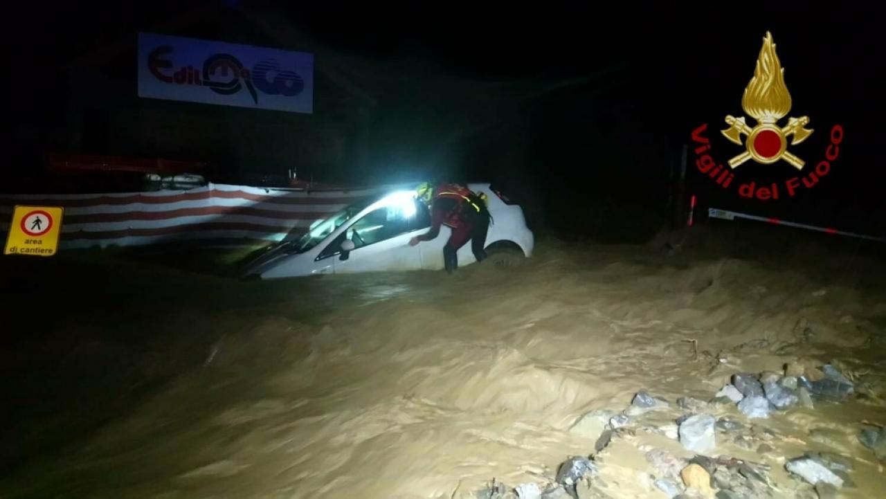 Maltempo: alluvione a Ventimiglia