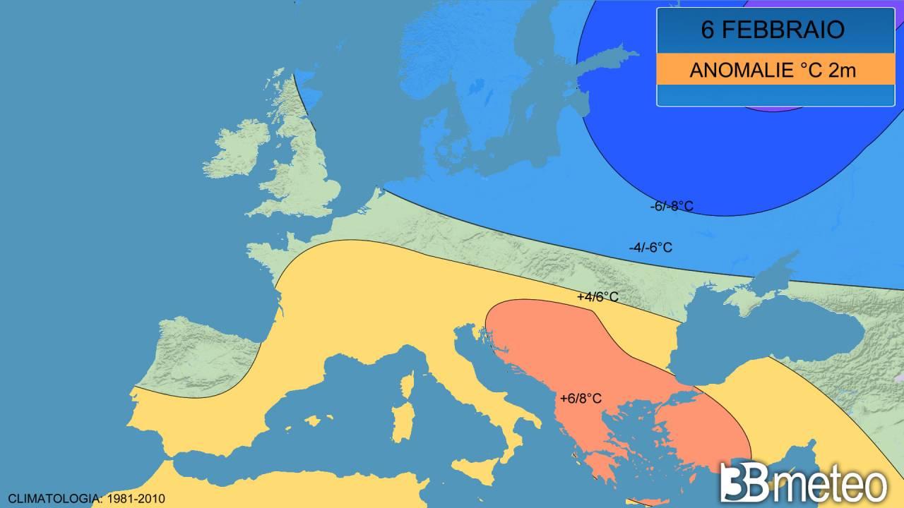 meteo 'estremo' in Europa
