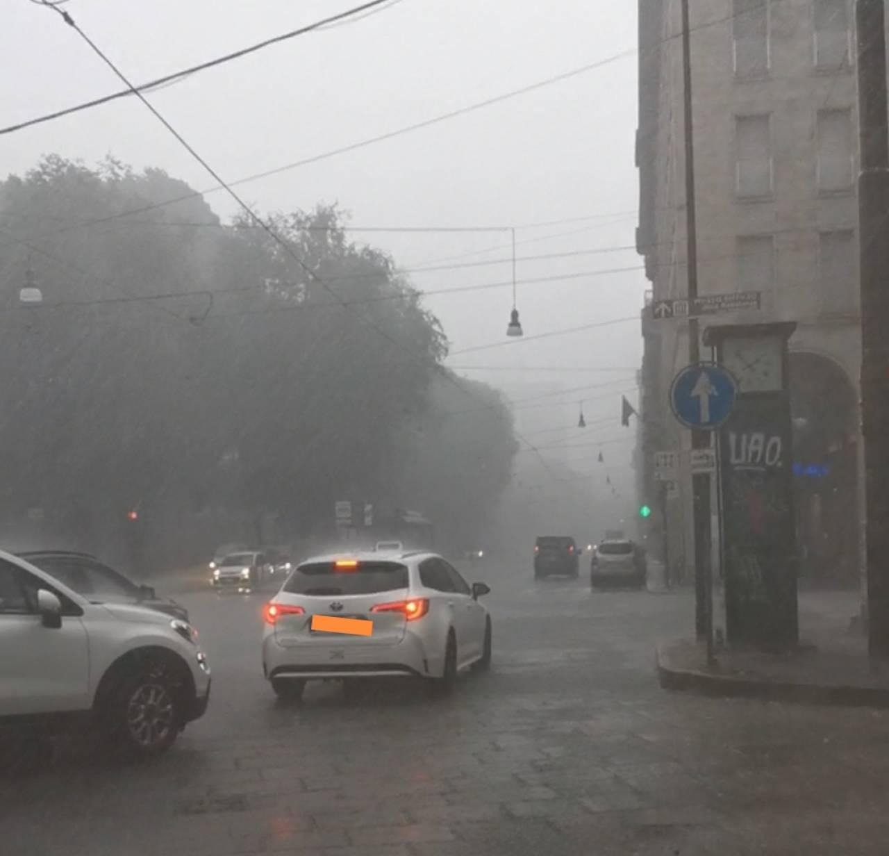 Meteo. Forte temporale martedì pomeriggio a Torino. Il centro città