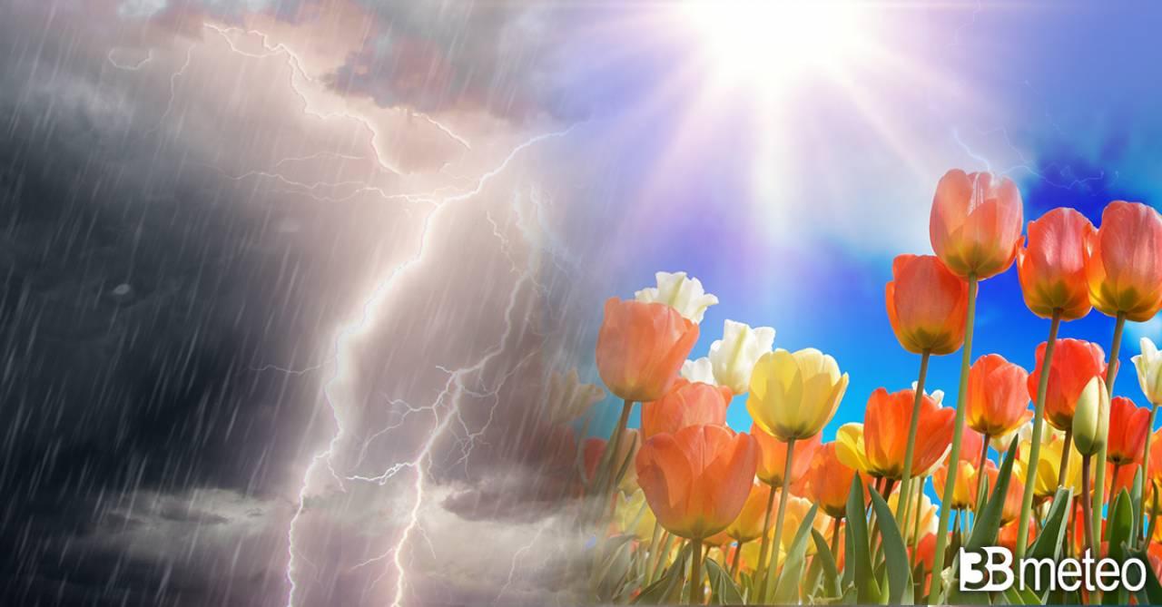 Meteo. Prossima settimana incerta, tra sole e alcuni temporali