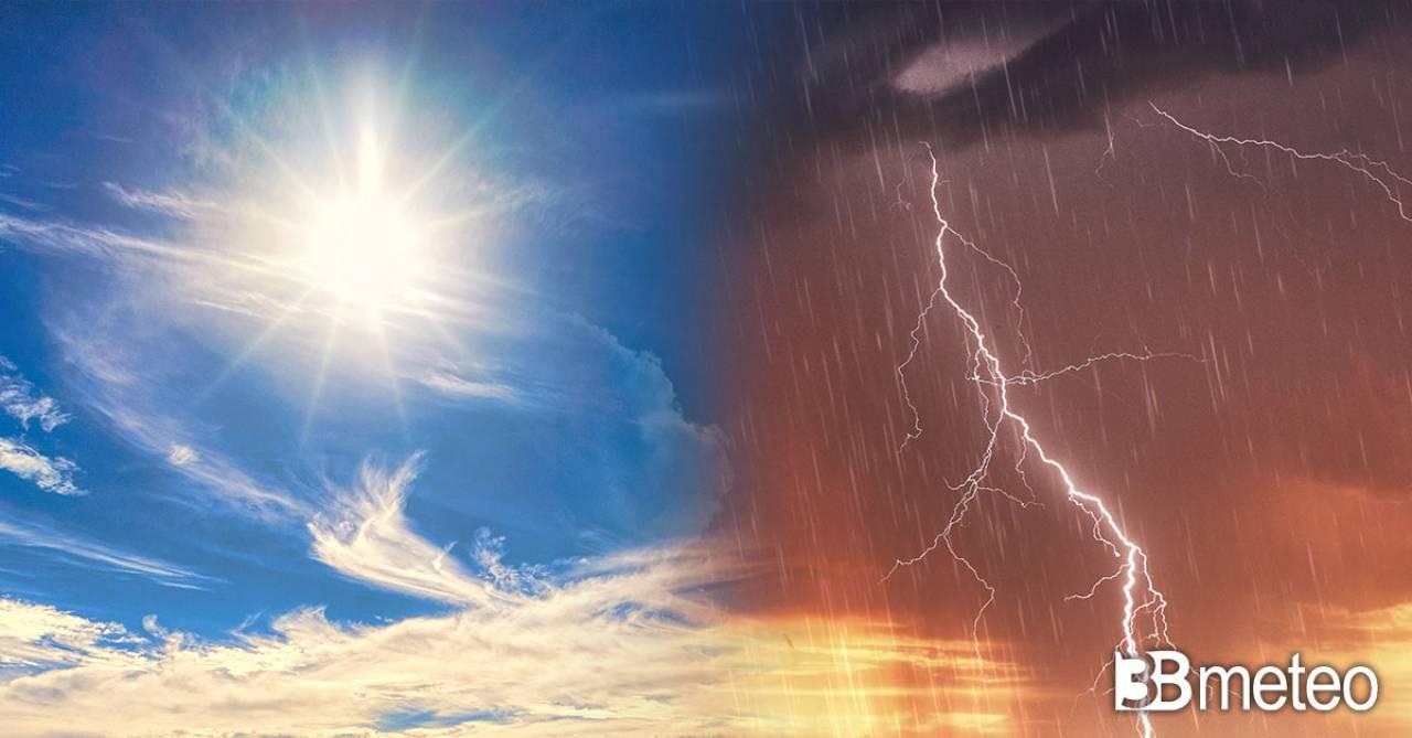Meteo. Prossima settimana sole e caldo, ma rischio di qualche temporale