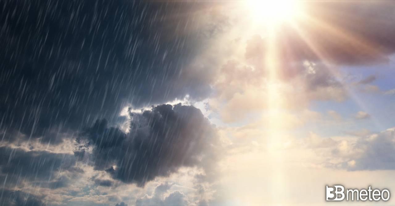 Meteo. Rischio ritorno di alcune piogge dopo il 26 aprile