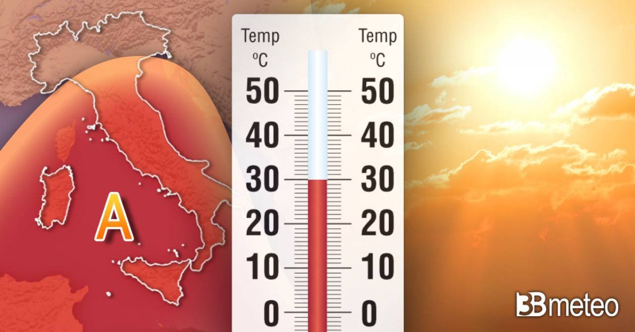 Meteo. Temperature in aumento, fiammata africana imminente